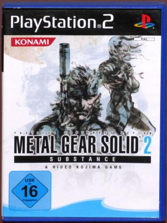 PlayStation 2 (PS2) Metal Gear Solid 2 Subtance Konami/Sony 2009