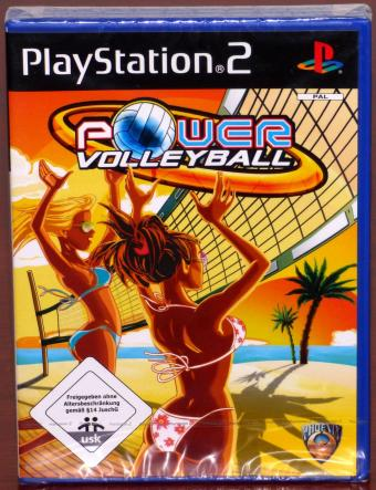 PlayStation 2 (PS2) Power Volleyball NEU Phoenix Games/Sony 2007