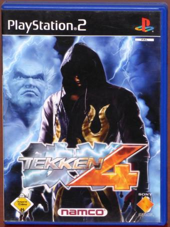 PlayStation 2 (PS2) Tekken 4 - The King of Iron Fist Tournament Dualshock 2 Namco/Sony Computer Entertainment 2002