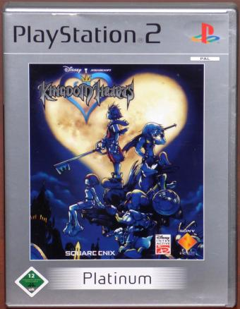 Kingdom Hearts - PlayStation 2 (PS2) Platinum Squareenix/Disney Interactive/Sony 2002