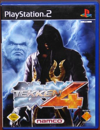 PlayStation 2 (PS2) Tekken 4 inkl. scee catalogue video Demo-CD Namco/Sony 2002