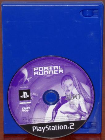 PlayStation 2 (PS2) Portal Runner DVD-ROM PAL (ohne Cover) 3DO Company/Sony 2001
