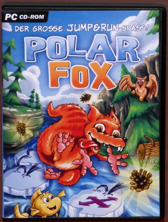 Polar Fox - Der grosse Jump & Run-Spass Rette dich vor der Eiszeit PC CD-ROM Zone 2 Games/Rondomedia GmbH 2006