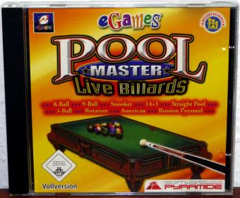 Pool Master - Live Billards - eGames/rondomedia 2006
