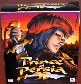 Prince of Persia 3D PC CD-ROM Learning Company/Mindscape Entertainment/aktronic Bigbox 1999