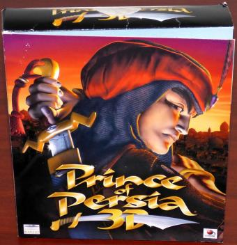 Prince of Persia 3D OVP Bigbox Doppelcover 2 CD-ROMs 1999