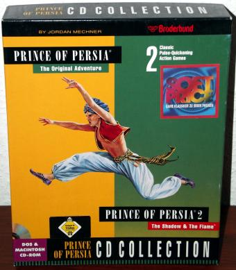 Prince of Persia - CD Collection - 2 Games von Broderbund 1995