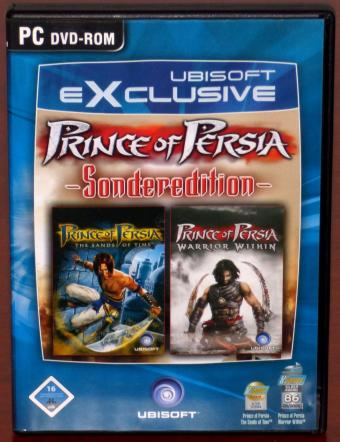 Prince of Persia - Sonderediton - The Sands of Time & Warrior Within 2DVDs Ubisoft Exclusive 2004