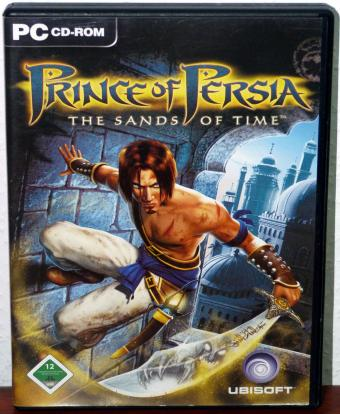 Prince of Persia - The Sands of Time - Ubisoft 2CDs 2003