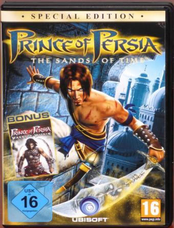 Prince of Persia - The Sands of Time & Warrior Within Special-Editon PC DVDs Ubisoft 2004