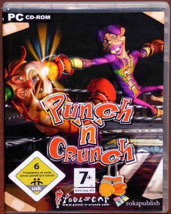 Punch 'n' Crunch Fun-Boxspiel PC CD-ROM rokapublish/Foolscap 2009