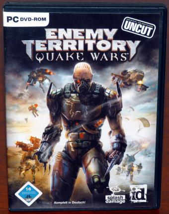 Quake Wars Enemy Territory - Uncut DVD Deutsch - id Software/splash damage/ActiVision 2007