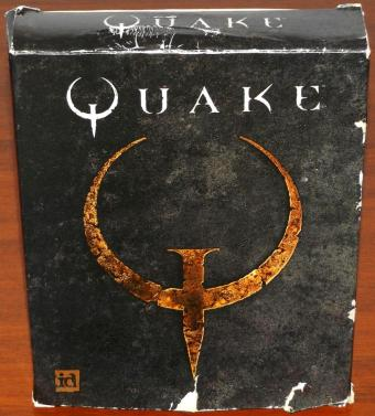 Quake Handbuch & CD in OVP - id Software/GT Interactive 1996