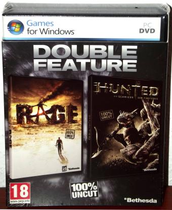 Rage & Hunted - Double Feature Pack USK18 id Software/Bethesda 2011