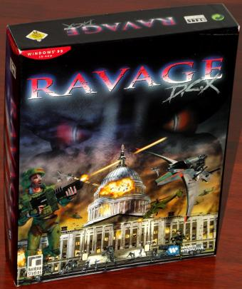 Ravage D.C.X - Action Shooter von Rainbow Studios / Warner Interactive 1996
