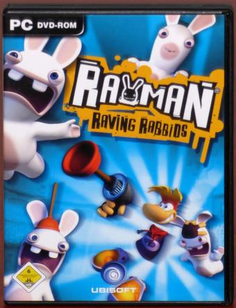 Rayman Raving Rabbids PC DVD Ubisoft 2006