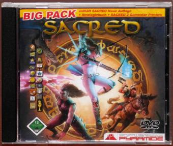Sacred Big-Pack PC DVDs Ascaron 2006
