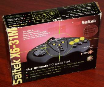 Saitek X6-31M Ultimate GamePad