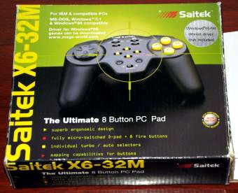 Saitek X6-32M Ultimate 8-Button GamePad