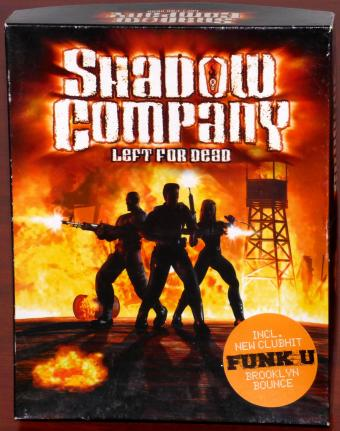 Shadow Company - Left for Dead CD-ROM inkl. New Clubhit Funk U Brooklyn Bounce OVP Bigbox Sinister Games/Ubi Soft Entertainment 1999