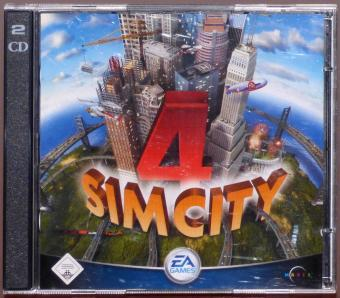SimCity 4 PC 2x CD-ROMs Maxis/Electronic Arts 2003