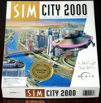 SimCity 2000 DOS Signature Edition Maxis 1993