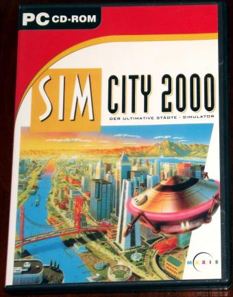 SimCity 2000 Maxis CD Collection