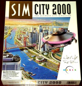 SimCity 2000 - englische DOS Disketten Version Maxis 1993