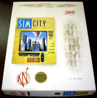 SimCity - Virgin / Interplay CD-ROM Ausgabe