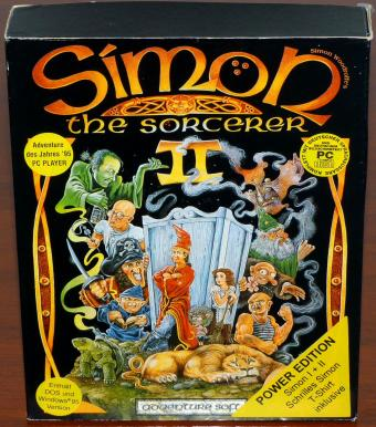 Simon The Sorcerer I & II Power Edition - Adventure Soft/Bomico 1995