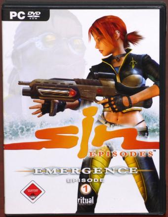 Sin Episodes - Emergence Episode 1 PC DVD ritual Entertainment 2006