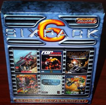 SixPack Volume 2 Spielesammlung mit 6 Vollversionen - Swing-Entertainment 1999