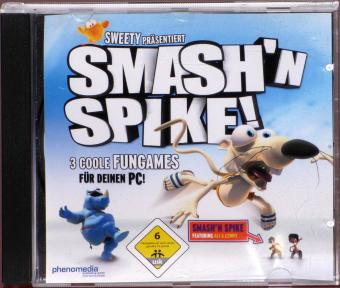Smash'n Spike! 3 coole Fungames PC CD-ROM Sweety/phenomedia publishing GmbH/Ojom GmbH/Jamba AG 2005
