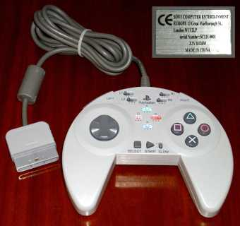 Sony Playstation Joystick Model: SCEH-0001