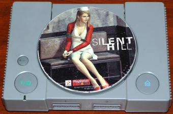Sony PlayStation (Silent Hill) Model SCPH-5502 inklusive 2 Game-Controller