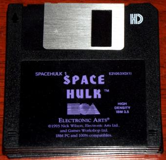 Space Hulk - 4 Disketten von Electronics Arts 1993