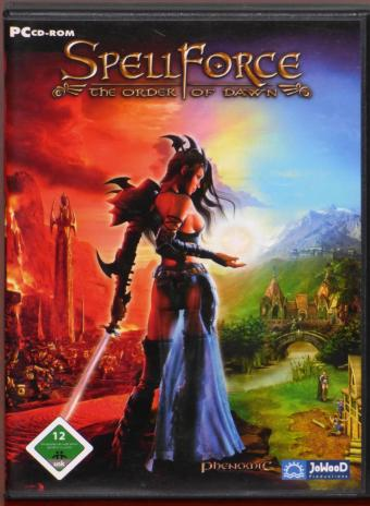 SpellForce The Order of Dawn PC CD-ROM Phenomic/JoWooD 2005