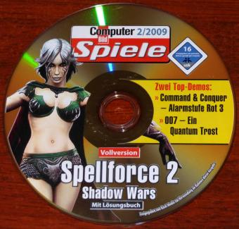 Spellforce 2 Shadow Wars Vollversion mit Lösungsbuch CBS 2/2009