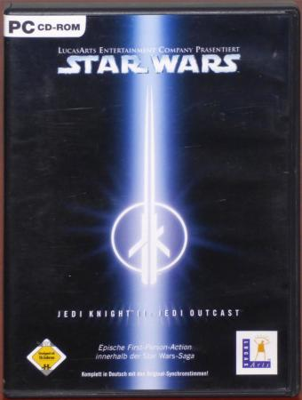 Star Wars - Jedi Knight II Jedi Outcast PC CD-ROM Lucas Arts/ActiVision 2002