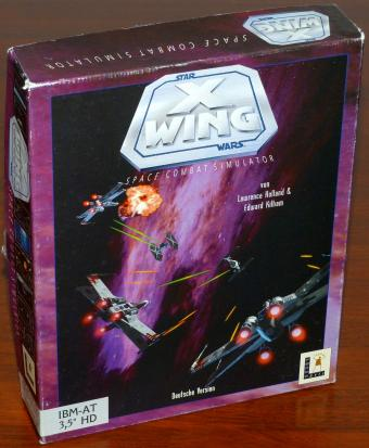 Star Wars X Wing - Allianz der Rebellen Die Akte Farlander - Space Combat Simulator deutsche Version IBM AT 3,5