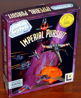 Star Wars X Wing Mission-Pack Tour of Duty Imperial Pursuit - IBM AT 3,5