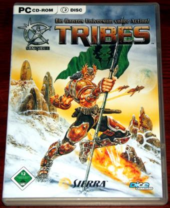 Starsiege Tribes PC-Spiel 1998 - Dice Multimedia / Sierra 2005
