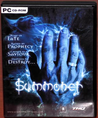 Summoner Fate, Prophecy, Saviour & Destroy, 2 PC CD-ROMs Volition Inc./THQ 2001