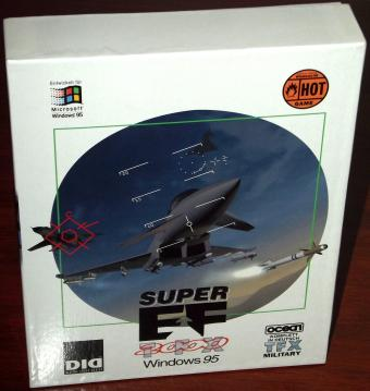 Super EF2000 TFX Military Flugsimulator DID/Ocean 1996