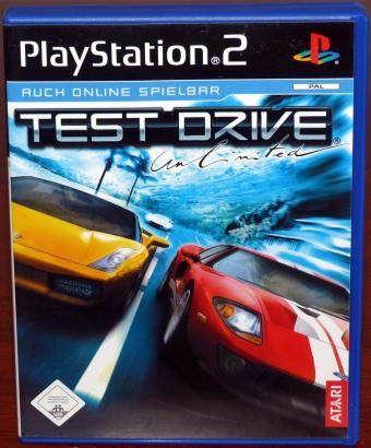 Test Drive Unlimited PlayStation 2 (PS2) Spiel Atari/Sony 2006