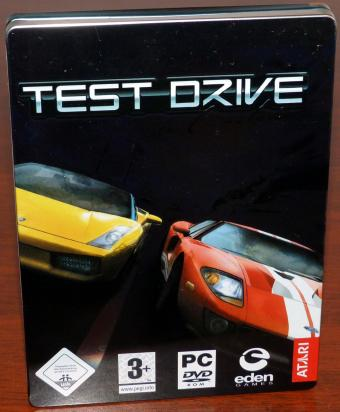 Test Drive Unlimited PC Spiel, Steelbook Edition, eden Games/ATARI 2006