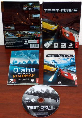 Test Drive Unlimited PC Spiel, Steelbook Edition inkl. Hawaii Roadmap, eden Games/ATARI 2006