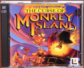 The Curse of Monkey Island PC CD-ROMs iMuse Systems/Lucas Arts 1997