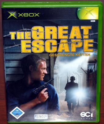 The Great Escape - Gesprengte Ketten XBOX Spiel, Pivotal Games/SCi Games 2003