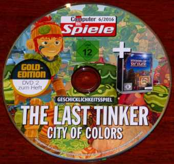 The Last Tinker - City of Colors Geschicklichkeitsspiel & Stones of Rome Daedalic Entertainment CBS 6/2016